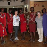 The wonderful Maasai who greeted us when we arrived, entertained us and were at our beckon call.