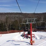 Schuss Red Chair Lift