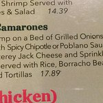 Nueva Leon Camarones description