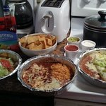 My Hubby and I have a New Year's Eve festive tradition of feasting on yummies from El Rodeo!
