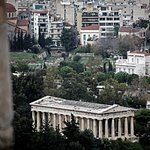 The Temple as seen from Acropolis