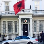 Albanian Embassy infrotn