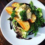 Goats cheese Crostini - We have a range of tasty starters and snacks