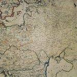 Карта России перед Войной 1812 года