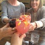 Cheers! Limoncello Sangria & wine