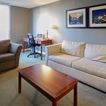 Salon dand une Suite / Living Room Area of Suites