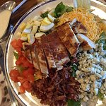 Cobb Salad - just look at all that Bleu cheese!!!