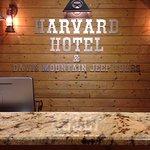 Harvard Hotel Registration Desk.  432-426-2500.