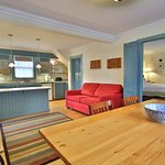 Studio - King Suite - All ground floor and parking adjacent to entrance. Ocean shore seating.