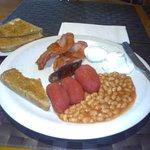 My hearty breakfast