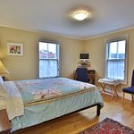 Cove View Room. Queen bed and bathroom ensuite.
