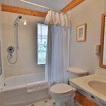 Studio King Suite Bathroom.