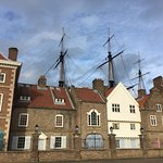 Hartlepool dock with bits of HMS Trincomalee