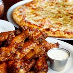 Pizza and Wing combos available!