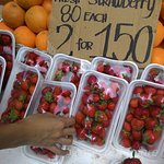 Strawberries and oranges