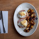 Eggs benedict - Part of our Seacoast Breakfast