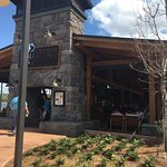 Awesome new outdoor grille at Wilderness Lodge