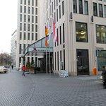 Berlin Marriott entrance