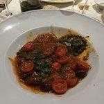 ravioli a la morue et tomate