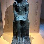 Een mooi beeld uit de tentoonstelling de Koninginnen van Egypte