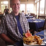 My My Hubby LOVED his Western Bar-B-Q Burger with Fresh Cut Fries!