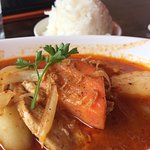 Monday Special - Chicken Coconut Massamun Curry w/Jasmine Rice