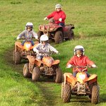 Quad biking available for all the family (6yrs +)