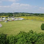 Harding standing and grass pitches available.