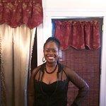 Our hostess, Rachelle - what a beauty!