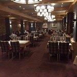 Hotel Riml: Restaurants,Vorspeisenbuffet,Speisekarte und Aussicht