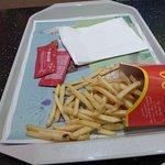 Paris McDonald gourmet french fries
