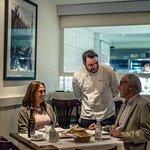 Nosso Chef Gianpiero Giuliani atendendo aos clientes