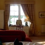 "Views of our lovely room ""Castle Howard ""at Swinton Park"