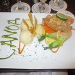 Fish dish at Canoa