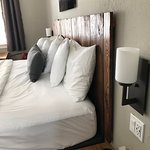 USB port on your bedside tables for charging devices easy.