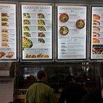 Expansive menu. Pretty good prices, too.
