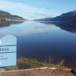 Located at one end of Loch Ness