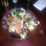 Second plate (grilled vegetables and mushrooms, seafood, meat)