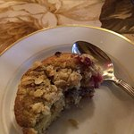 Breakfast - raspberry muffin