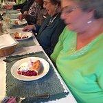 Mint pie - and Happy Birthday celebration