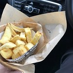 Cone of chips only a £1