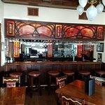 The bar at Hassayampa Inn