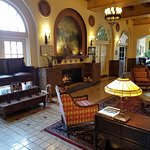 The lobby at Hassayampa Inn