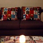 Our beautiful Derwent House cushions!
