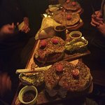 4 hamburguesas de cordero