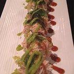 Espectacular comida japonesa