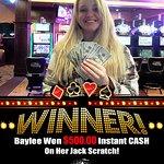 Jack Scratch Winner!