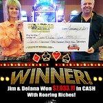 Roaring Riches Winner!
