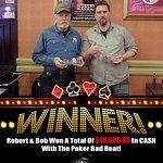 Poker Bad Beat winners!