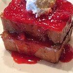 Strawberry Short Cake French Toast